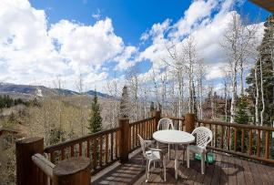 Deer Valley Vacation Condo - Deck Views