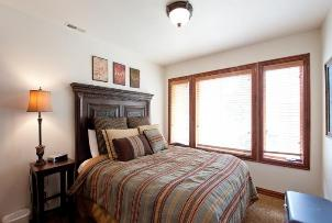 Park City Vacation Rentals - 2nd Bedroom with Queen Bed