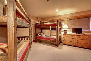 Park City Vacation Rentals - 4th Bedroom with 2 Twin Bunk Beds