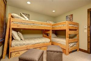 Park City Vacation Rentals - 5th Bedroom w/2 Twin Bunk Beds & Twin Trundle