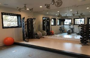 Park City Vacation Rental - Community Fitness Area with Sauna and Steam Rooms
