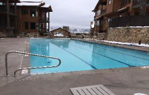 Park City Vacation Rental - Community Heated Swimming Pool