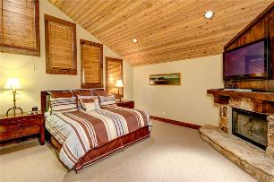 Park City Vacation Rentals - Master Bedroom with King Bed