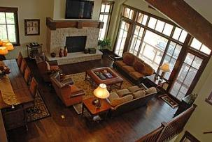 ParK City vacation rental - Silver Star great room overlook