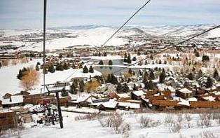 ParK City vacation rental - Silver Star view from private lift