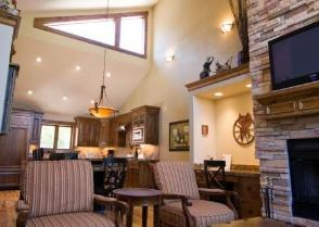 Deer Valley Vacation Rental - View to Kitchen