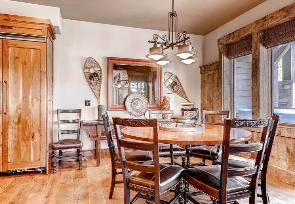 Park City Vacation Rental - Breakfast Room