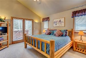 Park City Vacation Rental - Master Suite