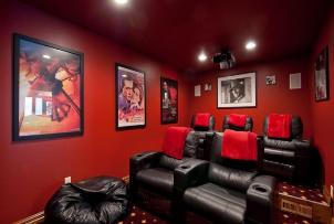 Park City Vacation Rentals - Home Theater