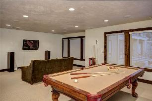 Park City Vacation Rentals - Game Room with Pool Table