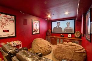 Park City Vacation Rental - Home Theater